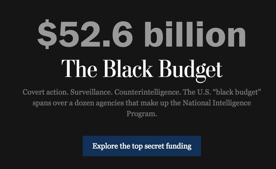 2013 Black Budget summary