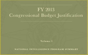 FY 2013 Congressional Budget Justification