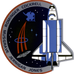 Columbia STS-80 UFO Encounter - Mission Patch