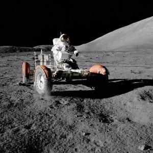 Apollo 17 Lunar Rover Gene Cernan