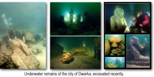 dwarka sunken city